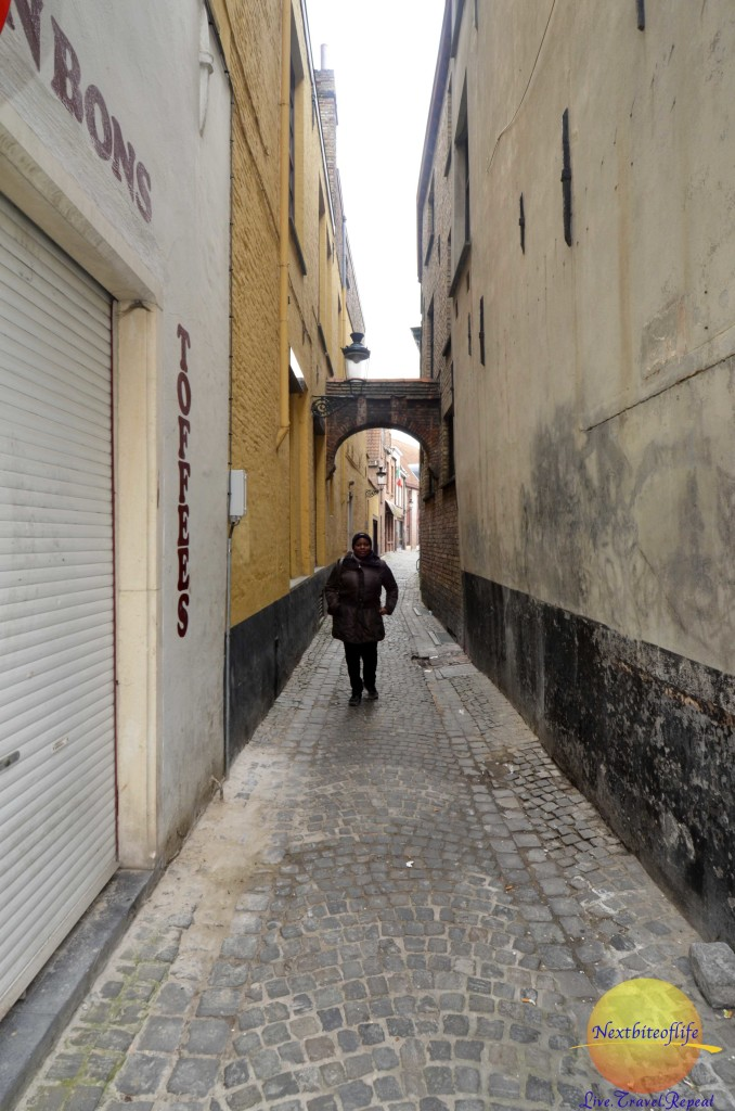 We loved checking out the streets.