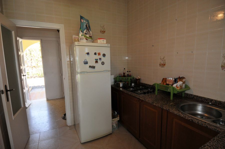 kitchen in rental house seville house showing fridge what 600 euro rental house