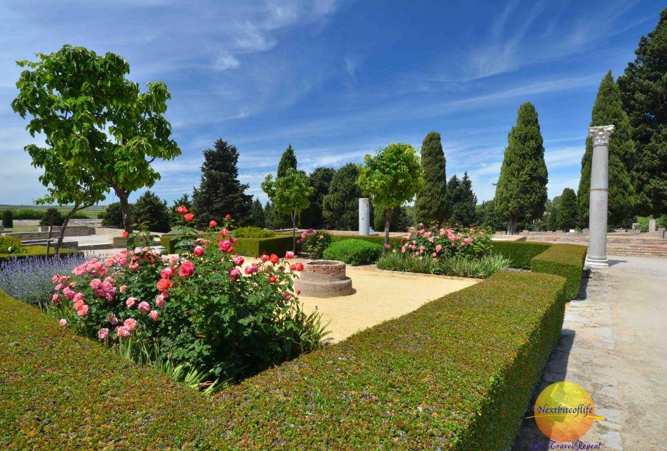 garden at Italica ruins