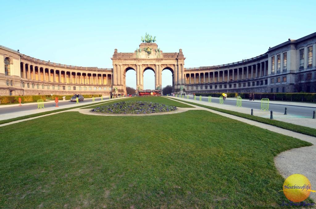 Cinquantenaire Park Parc Brussels