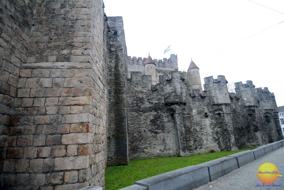Gravensteen Castle in Gent