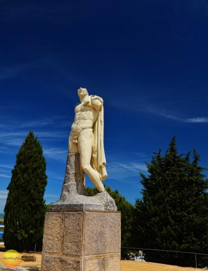Emperor Hadrian #hadrian #emperor #seville #spain #daytripseville #italica #ruins #italicaamphiteater