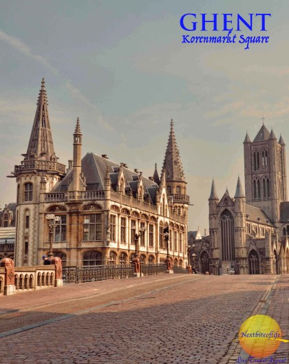 Saint Nicholas' Church and Celtic Towers. #ghent #belgium #visitghent