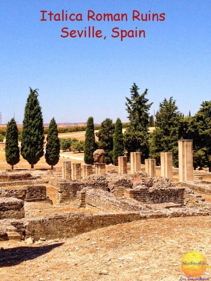 santiponce italica ruins #santiponce #italicaruins #bestdaytripfromSeville #romanruins #sevilleitinerary #sevillemustsee #whattodoinseville #romanamhitatre