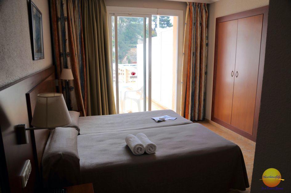 hotel room at Rosamar hotel loret de mar