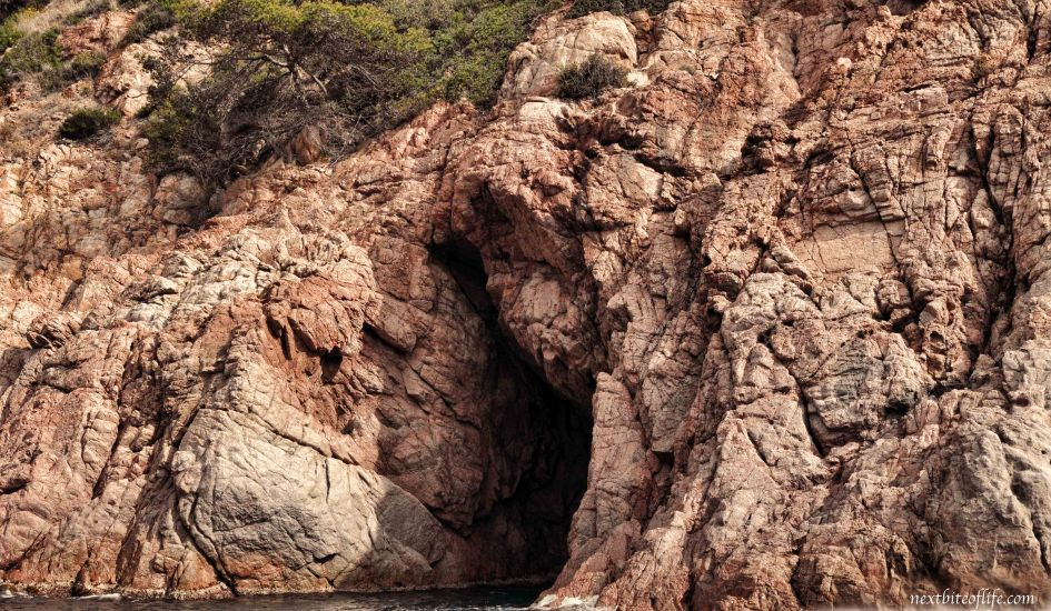 One of the coves we saw along the Costa Brava