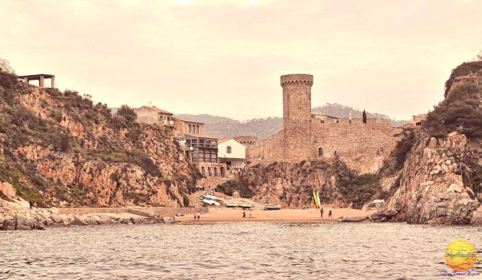 The neighboring town of Tossa de Mar