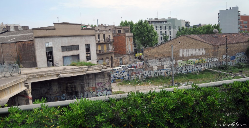 You can see how the landscape is changing. This is the other side of the flea market.
