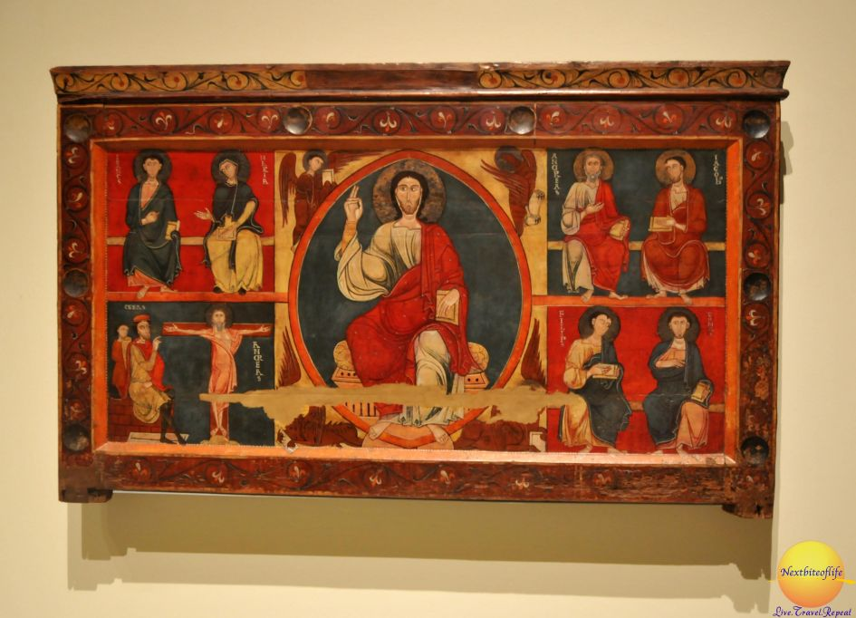 Another gorgeous masterpiece depicting Jesus and some apostles.