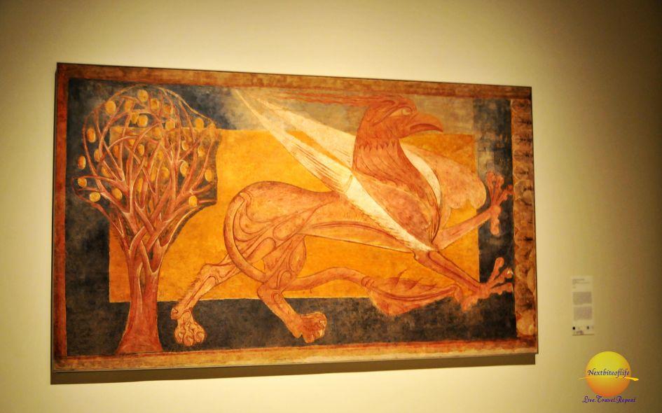 Arlanza Gryphon fresco