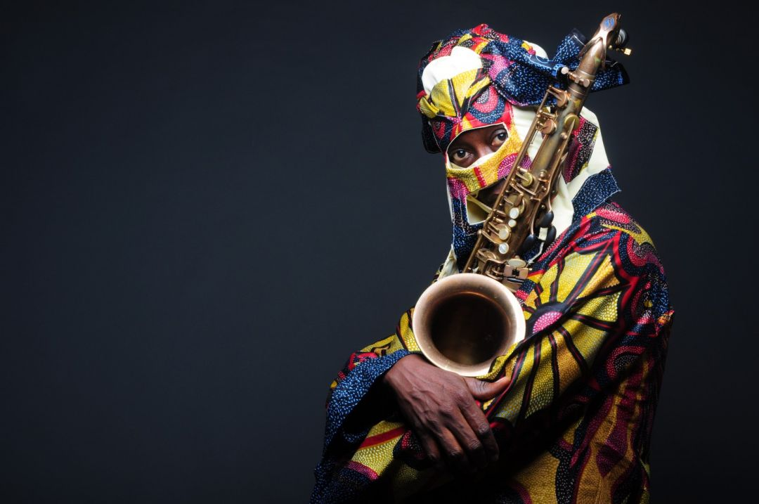 Lagbaja Nigerian artist in mask