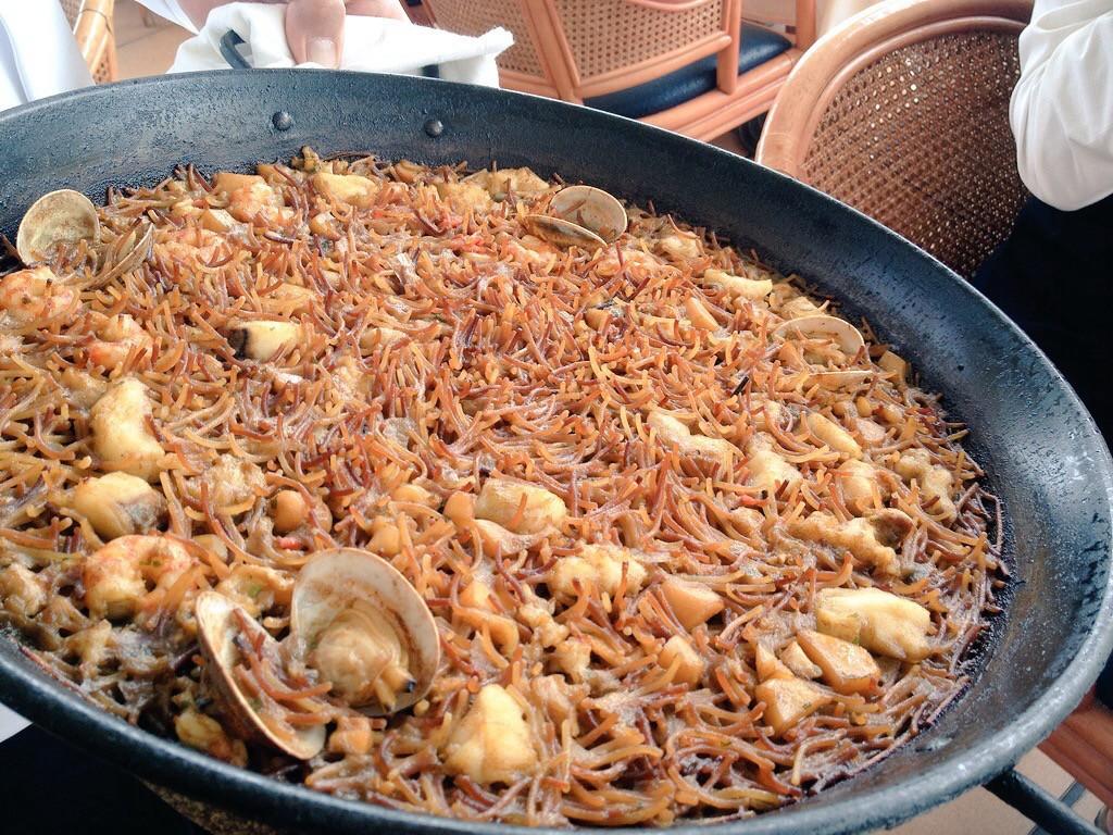 Fideua at the El Cangreco Loco
