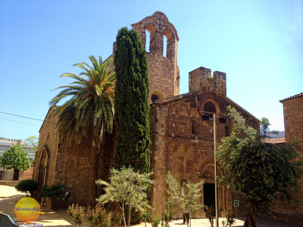 Iglesia Sant Pau del Camp in the old town.