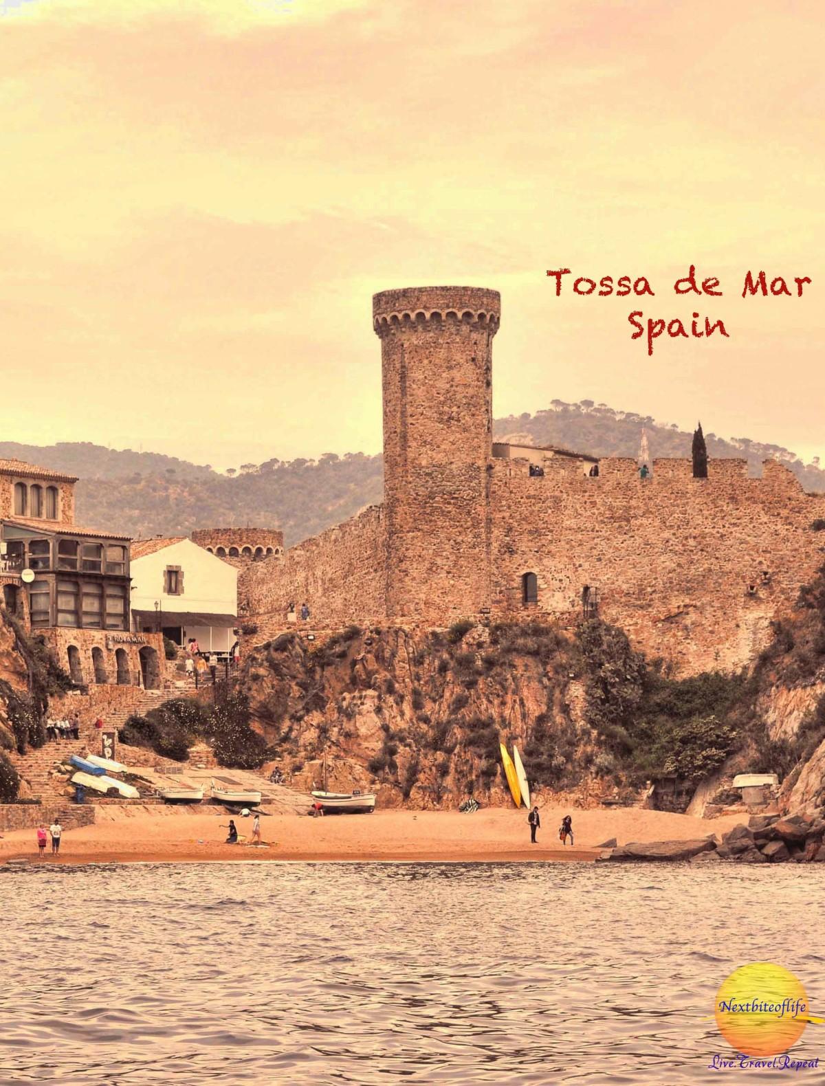 Tossa de Mar - pin it for later access.