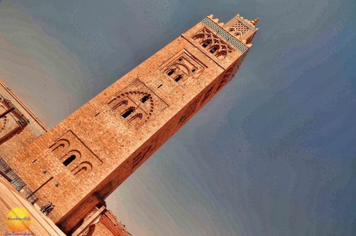 Marrakesh Koutoubia mosque