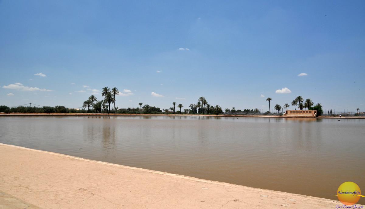 marrakesh menara garden reservoir