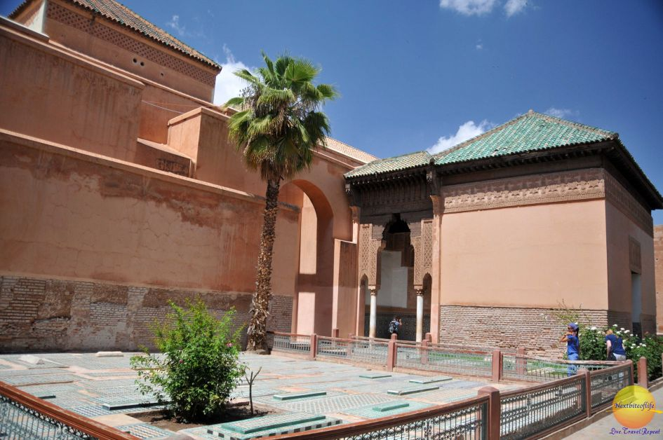 Marrakesh Saadian tombs