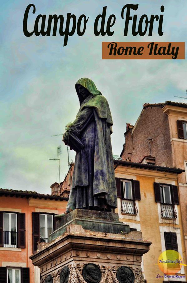 Campo de Fiori Rome #rome #romemarket #visitrome #italy #italytravel #campodefiori