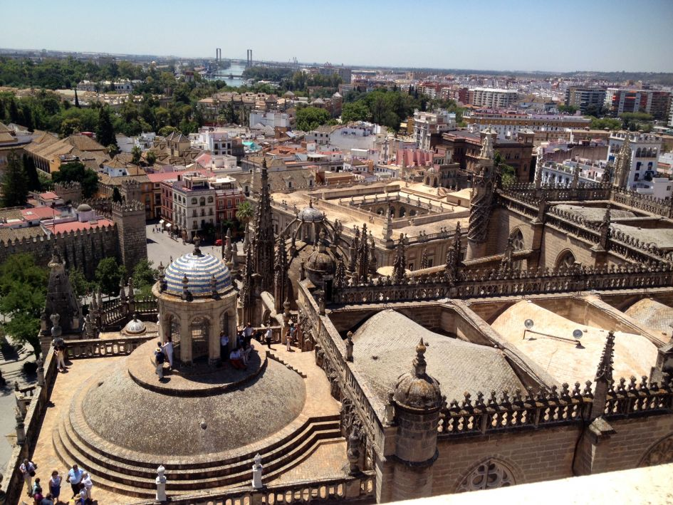 seville giralda view of the catedral sevilla