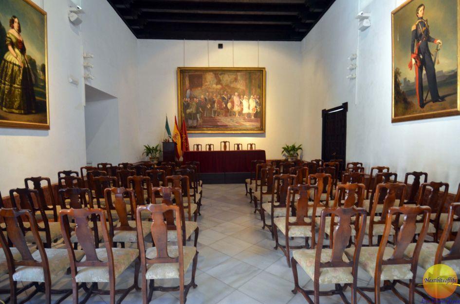 chapel alcazar seville spain