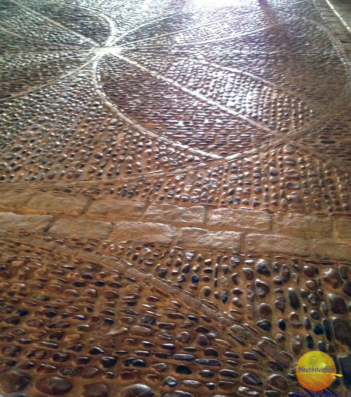 The flooring royal alcazar apeadero