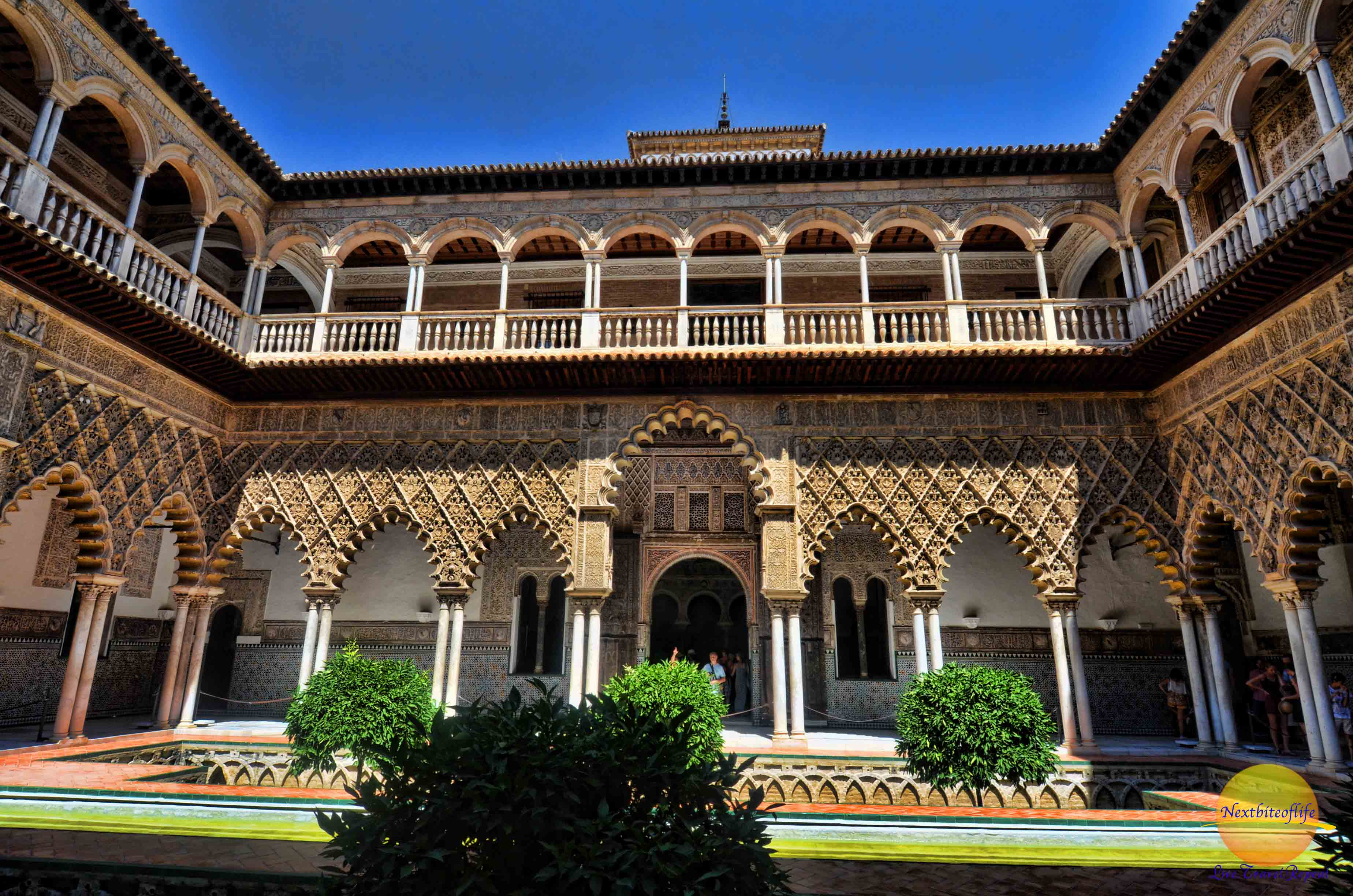 Moorish Design Alcazar Palace Of Seville Amp Podcast Wows All The Way