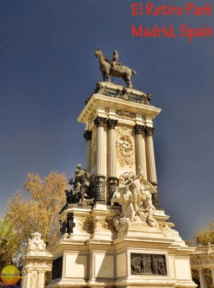 King Alfonso statue El Retiro Park #elretiropark #spain #madrid #buenretiro