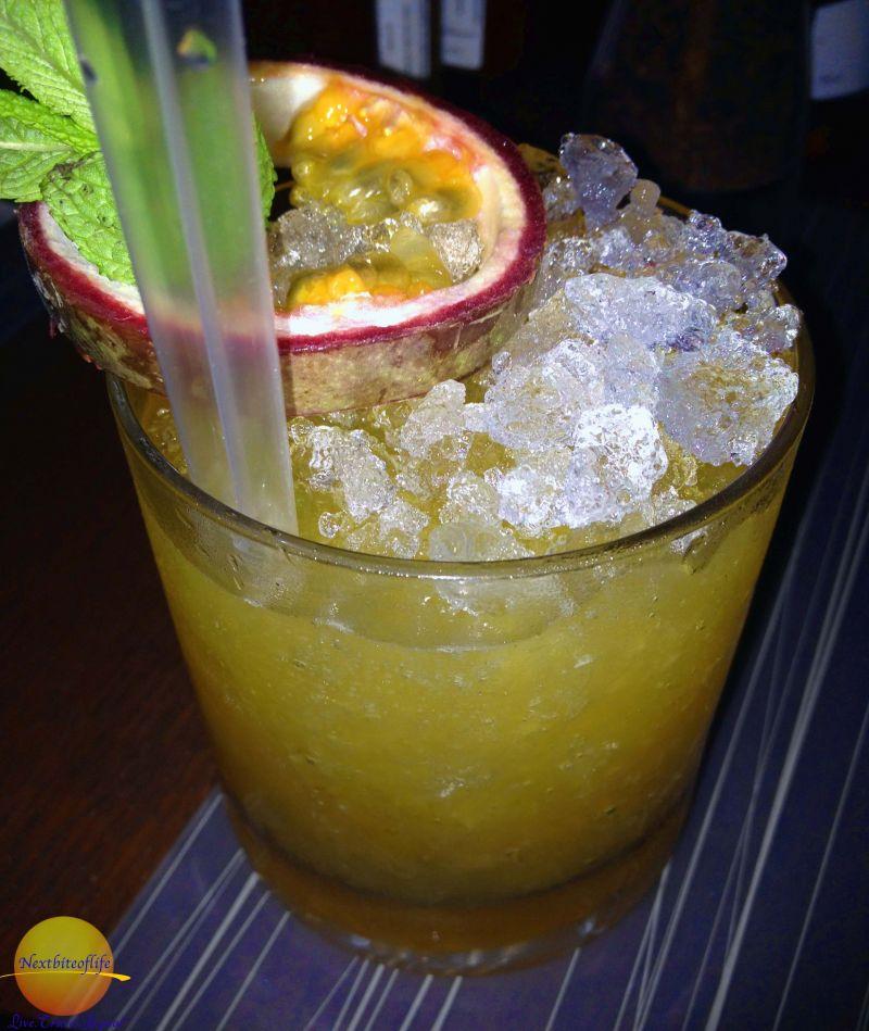 Exotic drinks..