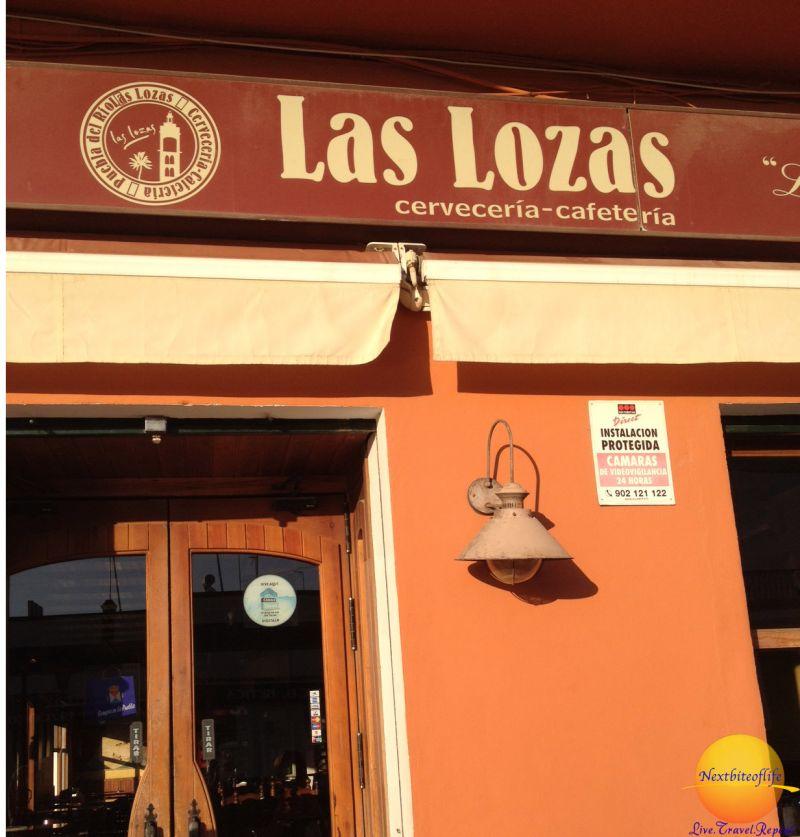 Pueblo del Rio Las Lozas entrance door