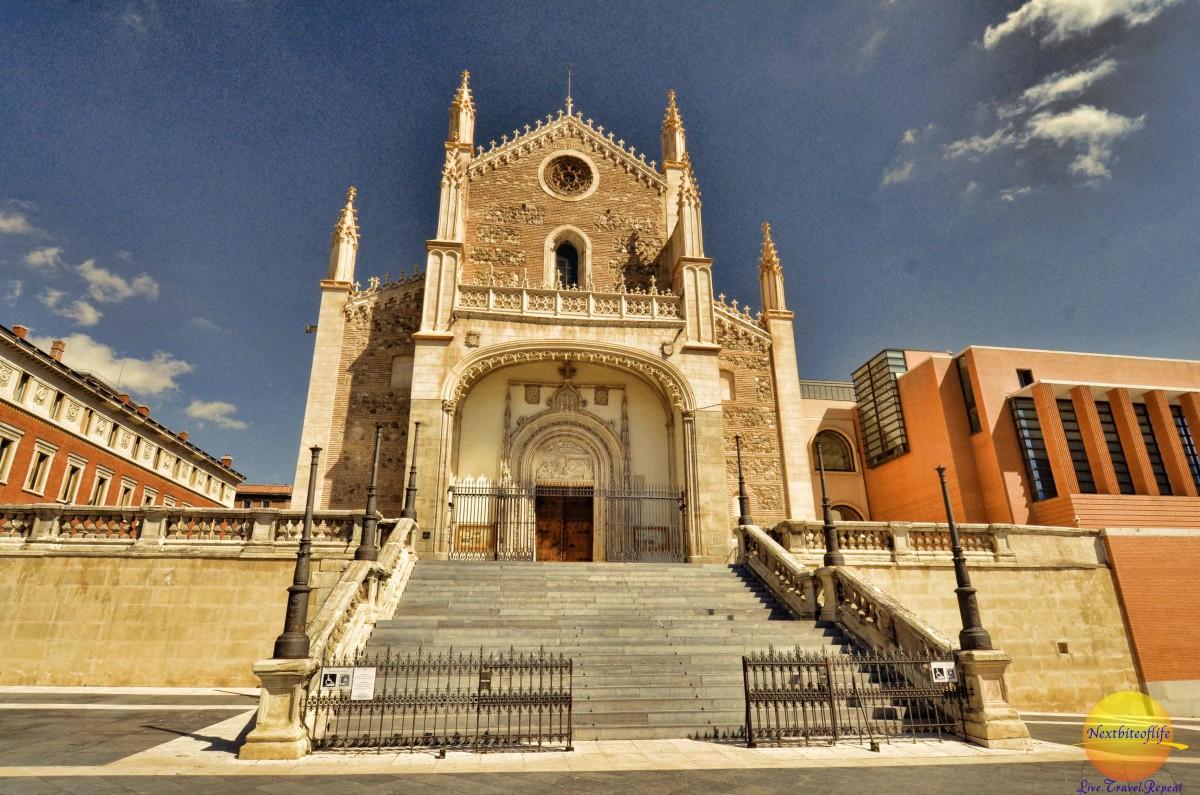 The San Jeronimo el Real Church.