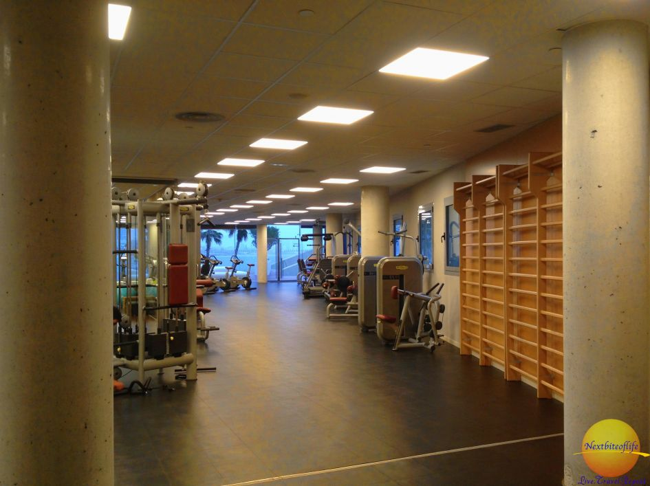 W hotel gym: All the gym equipment you could ever need..