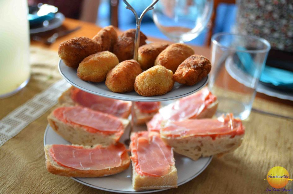 Lovely, tasty tapas..