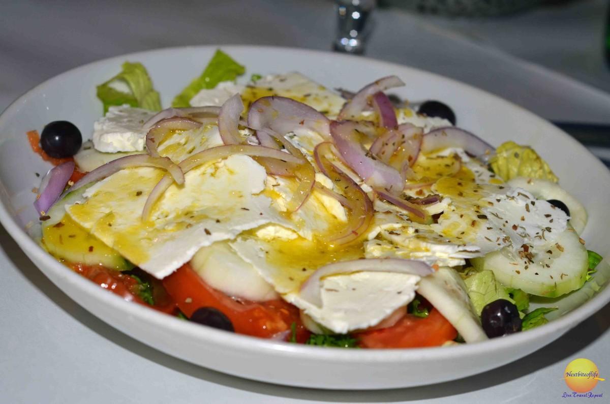 Yummy Greek salad..