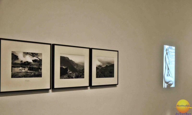 I enjoyed the black and white photography.