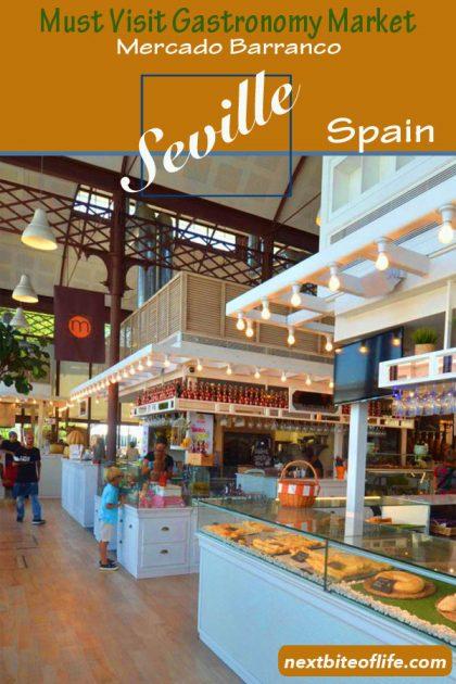 Mercado Barranco Seville #gastronomymarket #gourmetmarket #tapasseville #sevillemustvisit #sevillehighlight #foodinseville #visitseville #seville #spain #andalusia