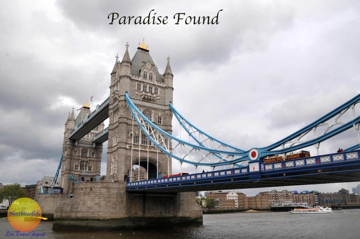 paradise found London bridge