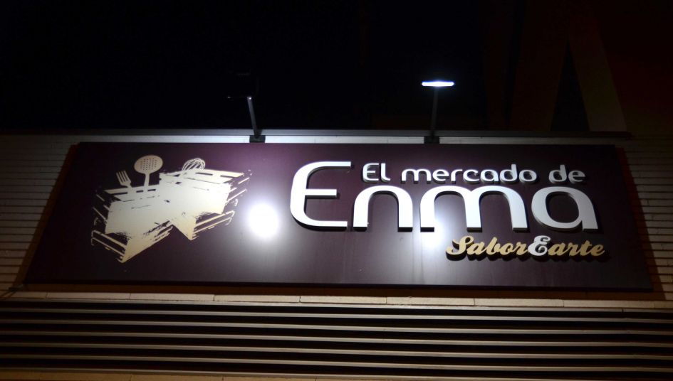 mercado de enma sign in seville