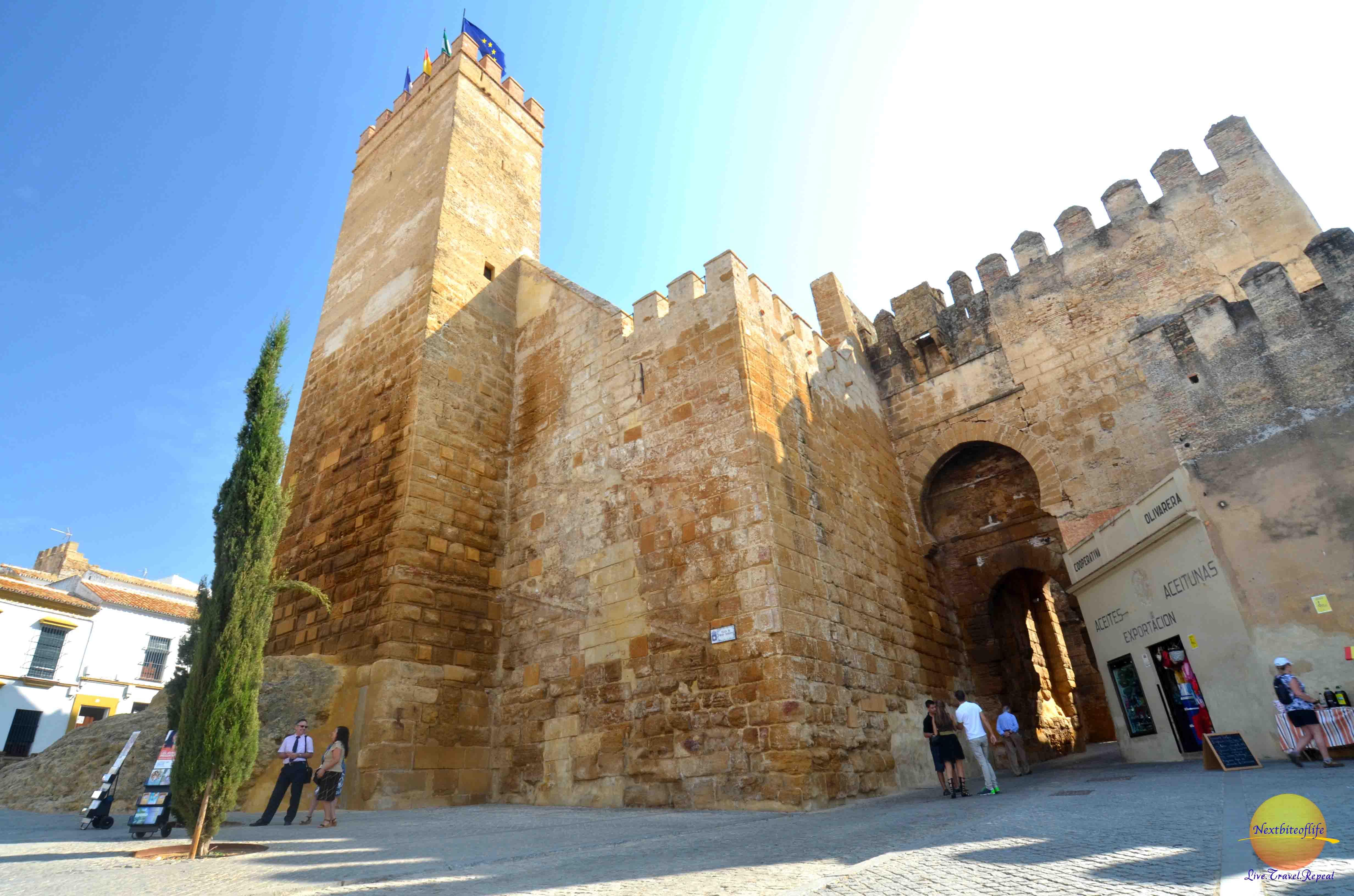 Carmona fortress of the gate of seville nextbiteoflife for Puerta de sevilla carmona