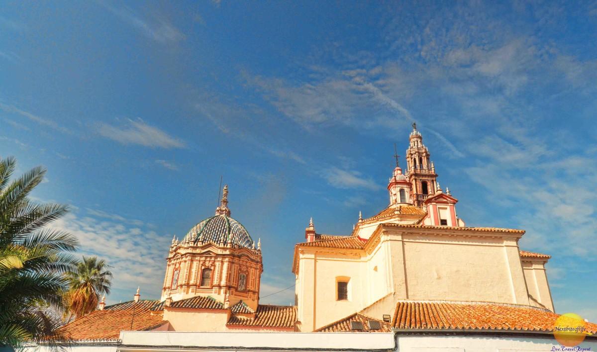 carmona church roof view