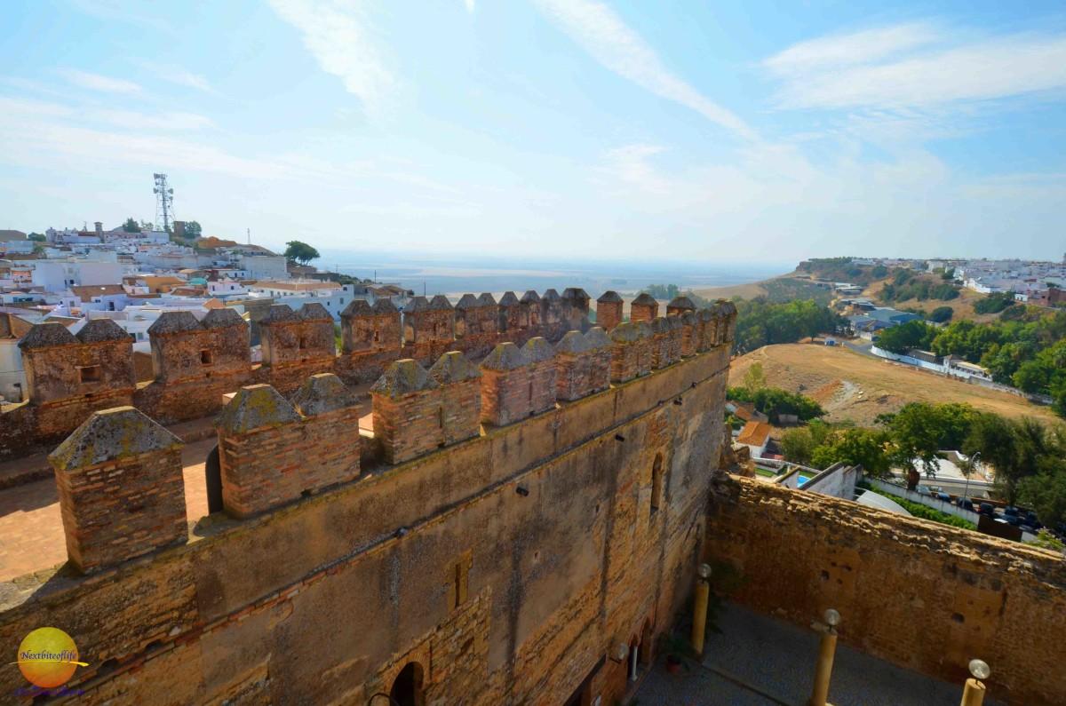 carmona fortress view 1
