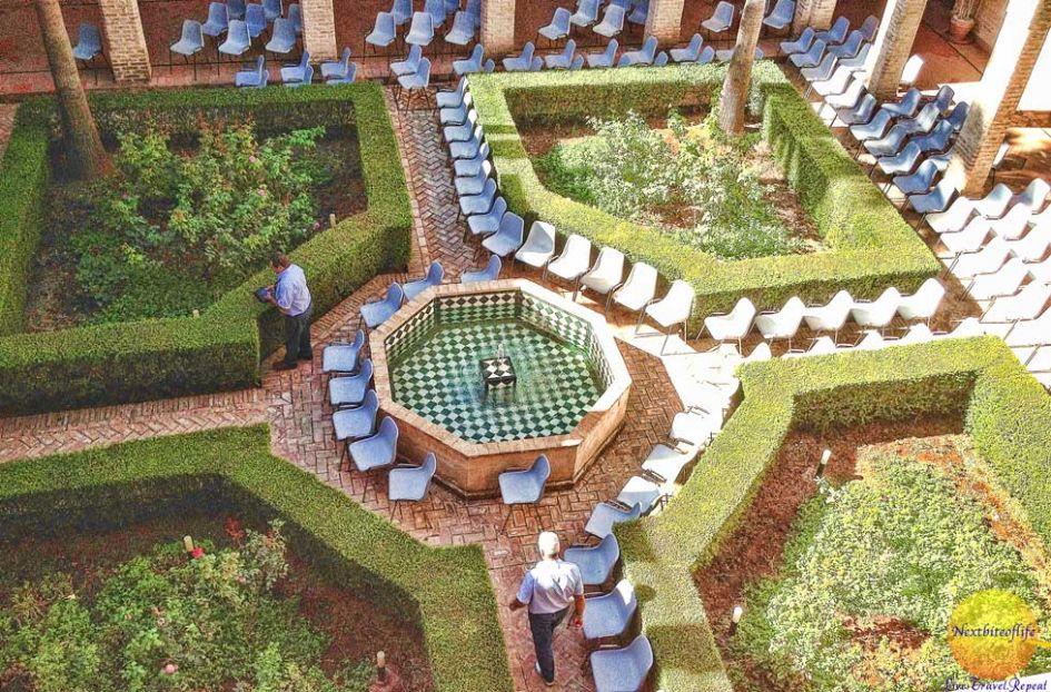 centro del mudejar view of courtyard