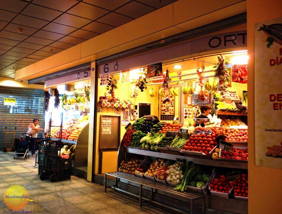 encarnacion market stalls seville