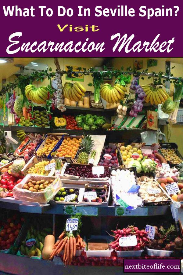 Encarnacion Market Seville #mustseeseville #sevilleguide #visitseville #spain #markets #foodmarkets #lasetaseville