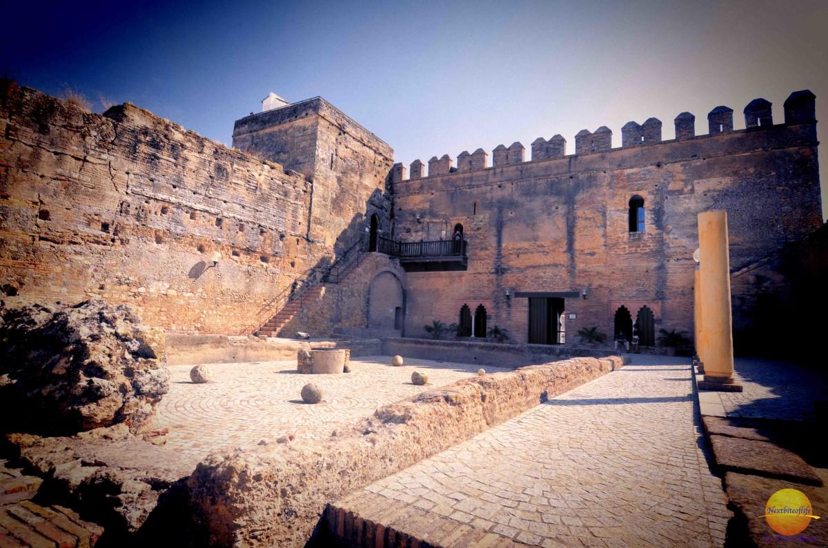 carmona fortress Patio of Cisterns