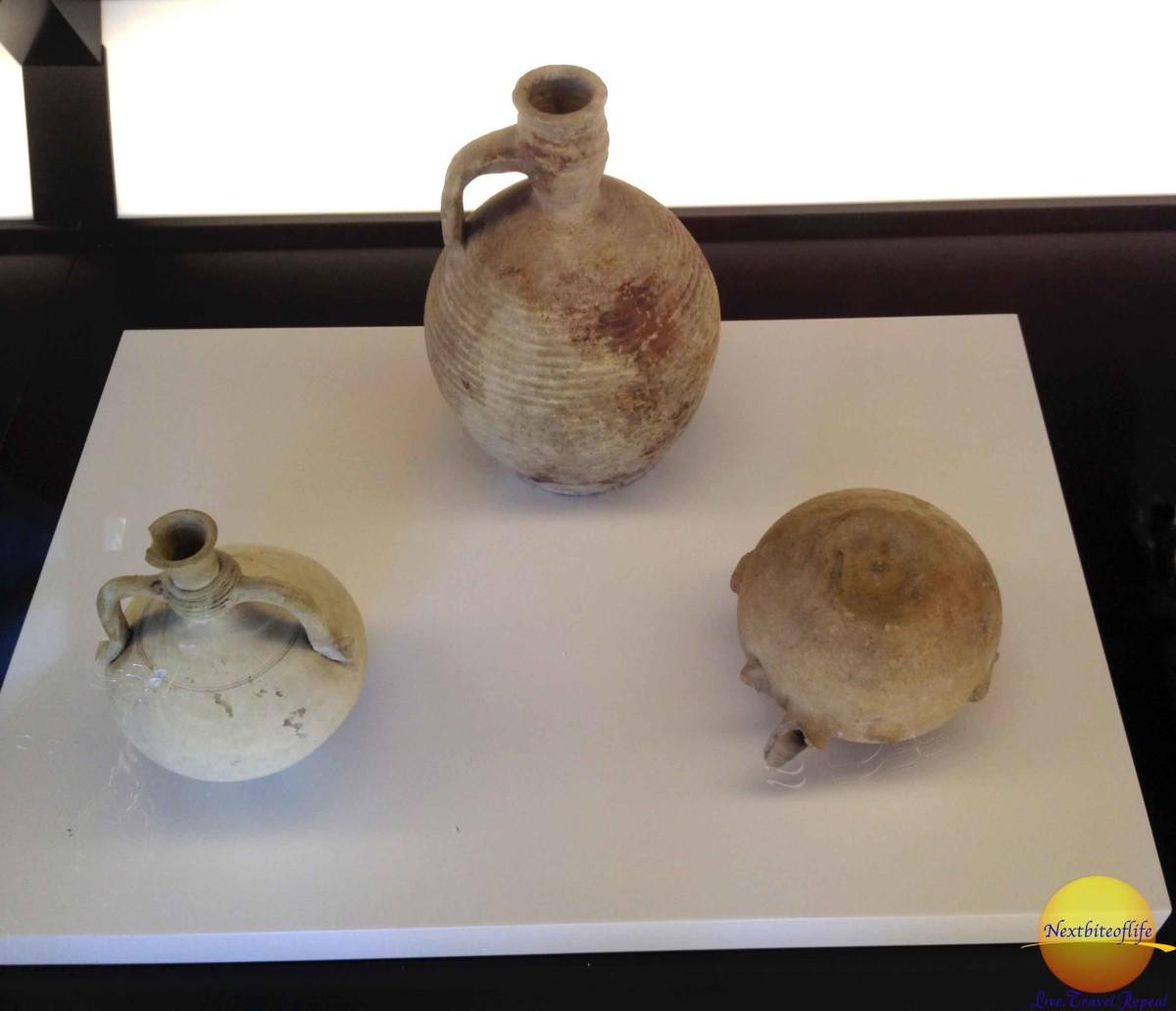 15th century pottery centro del mudejar seville