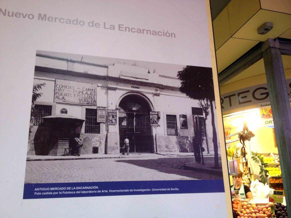 encarnacion market seville poster.