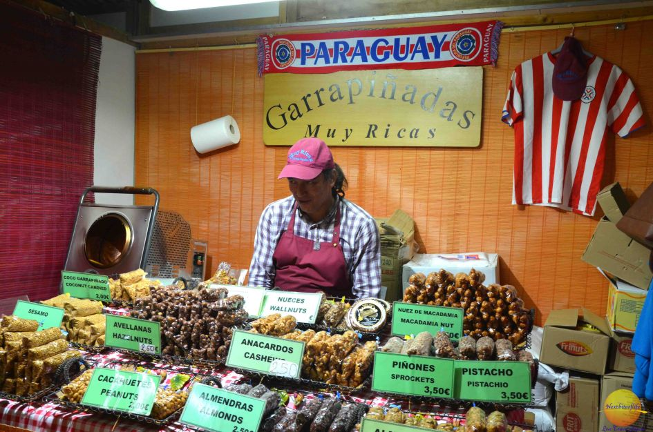 paraguay nuts display