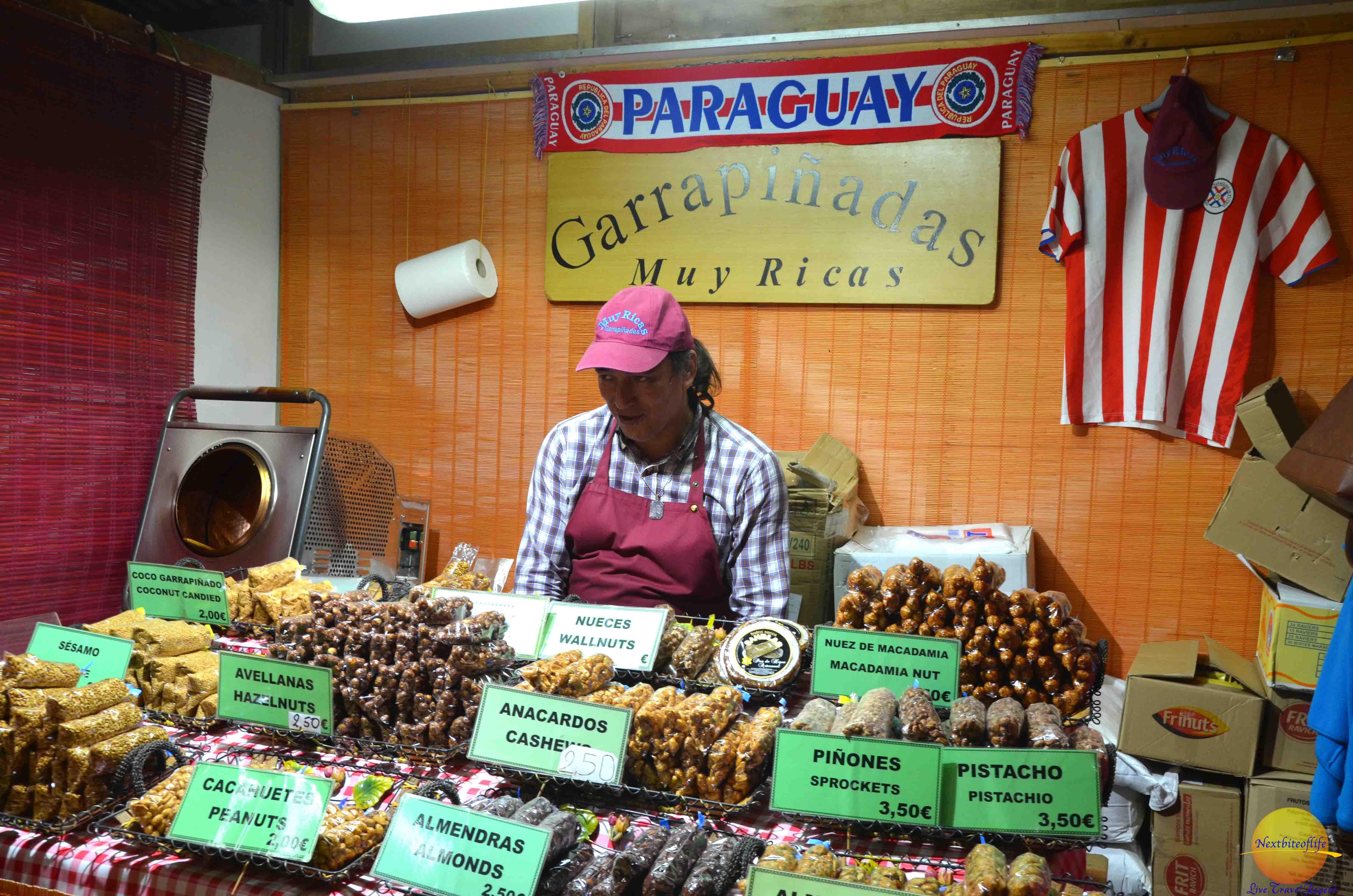 paraguay nnuts display