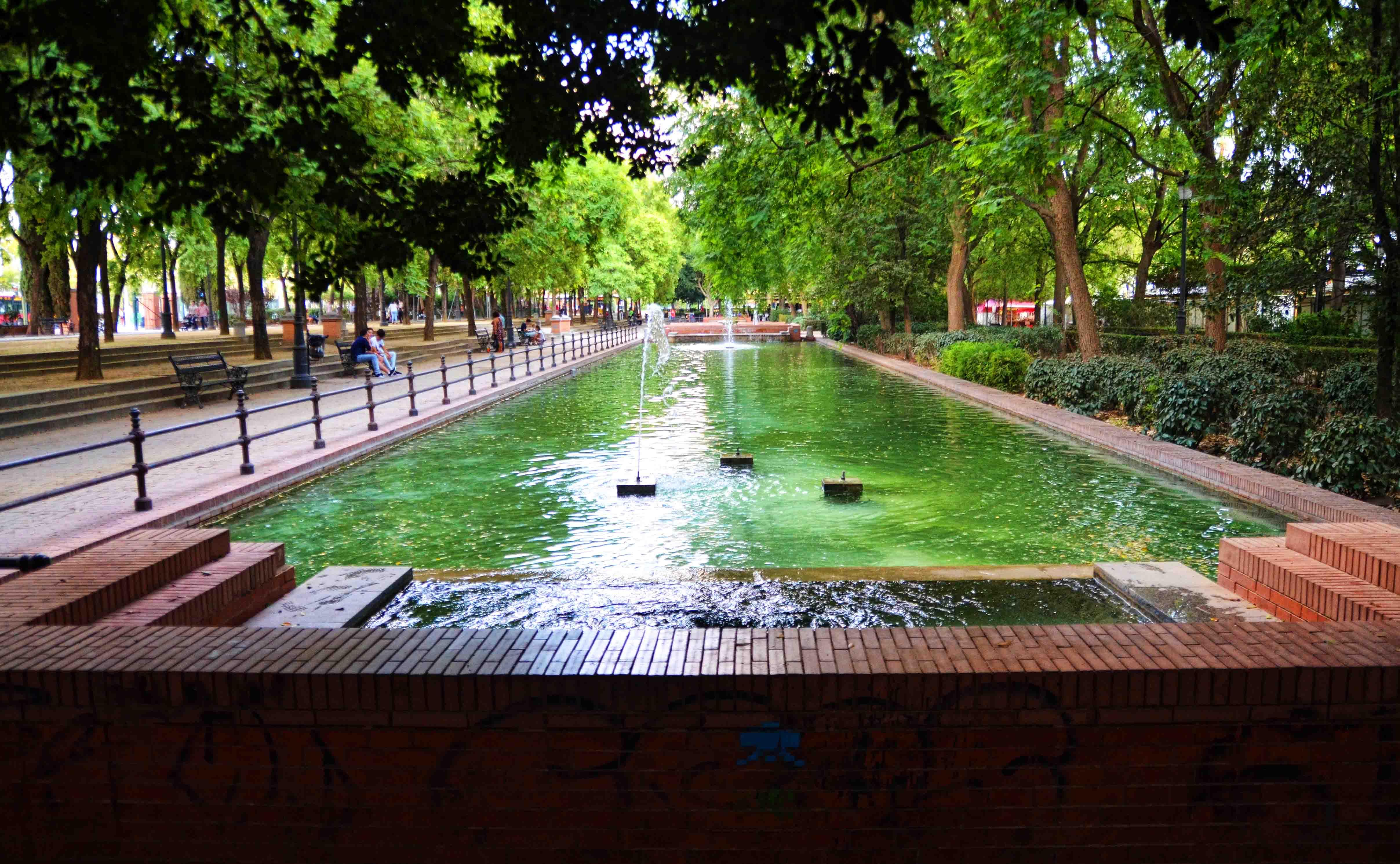 Prado de San Sebastian Park entrance.