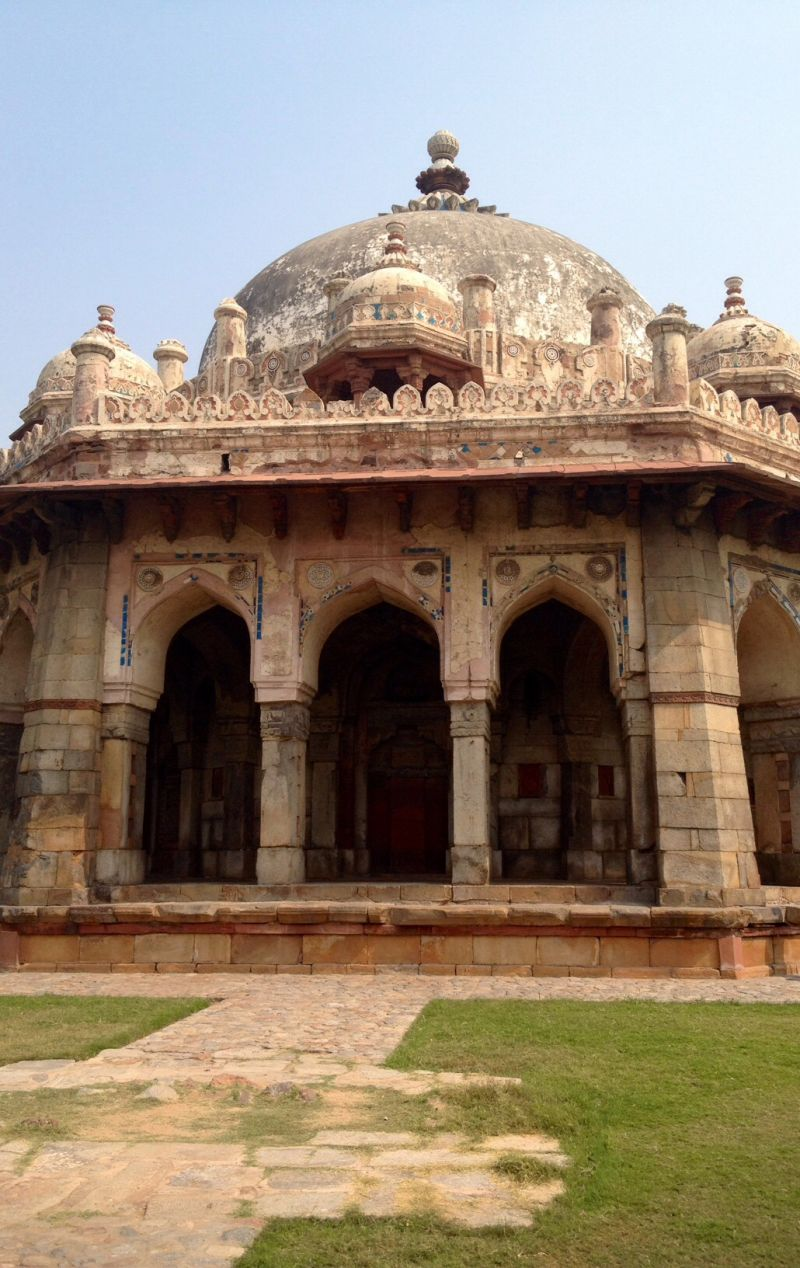 Hamayun tomb, one of the amazing sites we visited during India trip